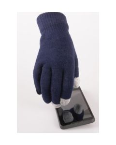 Donkerblauwe iGloves Touchscreen handschoenen