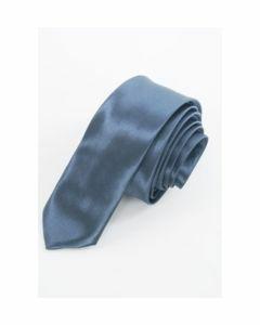Antraciet grijze extra skinny stropdas
