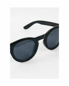 Stijlvolle zwarte designer-look zonnebril