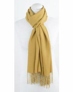 Okergele high quality pashmina sjaal
