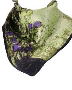 Groen paarse silk -Vincent van Gogh - art collection - sjaal
