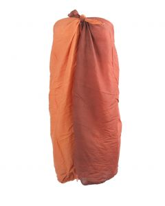 Bruin-oranje sarong met kleurverloop