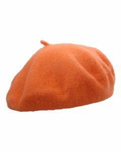 Licht-oranje alpino baret