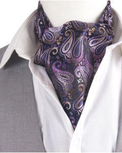 Set met paisley print cravat + pochet