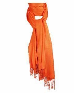 Oranje pashmina sjaal