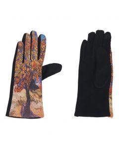 Handschoenen met afbeelding van''Moerbeiboom'' door Van Gogh