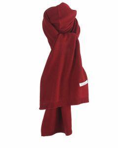 Kasjmier-blend sjaal in rood