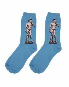 """Art sokken met """"David"""" van Michelangelo"""