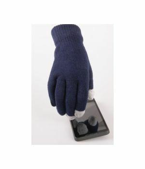 Donkerblauwe iGloves Touchscreen handschoenen