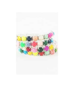 4-voudig multicolor armbandje