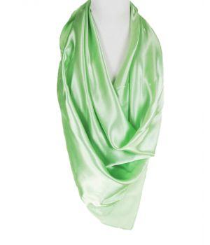 Lindegroene  satijnen sjaal