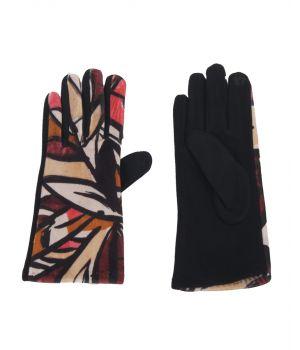 Picasso handschoenen in bordeauxrood