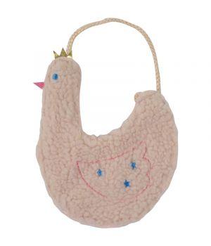 Kinder schoudertasje met een zwaantje