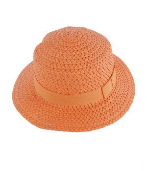 Oranje zonnehoed