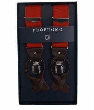 Luxe bretels in rood