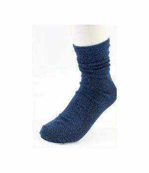 Sokken met kobaltblauwe glitters